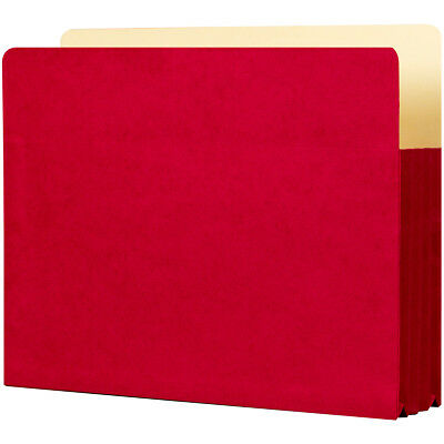 """Student Project Folders 9.5""""X14.75""""X3.5"""" 5/Pkg Ruby Red ST1526-RD"""