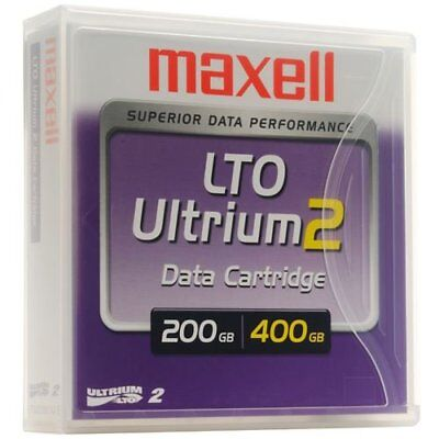 PACK ( lote 10 unidades ) LTO Ultrium 2 200/400GB Maxell 22919400