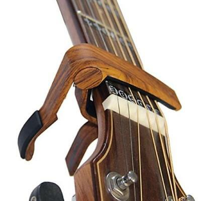 Rinastore 6-String Acoustic & Electric Guitar Capo- Single Handed Quick Change