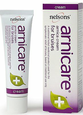Nelsons Arnicare Arnica Cream 30g Natural Herbal Remedy First Aid Bruises