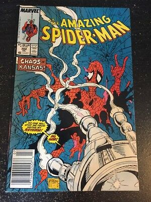 Amazing Spider-Man#302 Awesome Condition 6.0(1988) Silver Sable, Mcfarlane Art!!