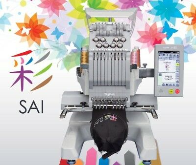 Tajima-SAI Industrial Embroidery Machine 8 Needle with Laser positioning
