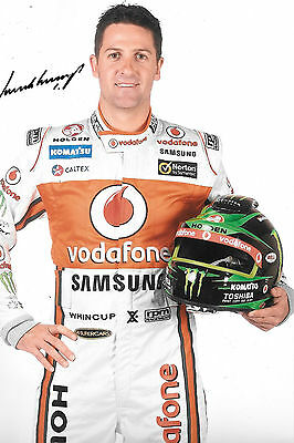 Jamie Whincup SIGNED 12x8, Australian V8 Supercars Multipile Champion