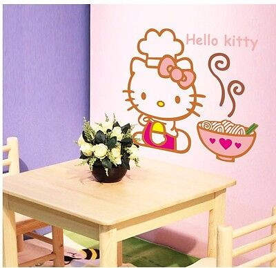 XXL Wandaufkleber Wandtattoo Wandsticker Wallsticker Kinderzimmer Hello Kitty