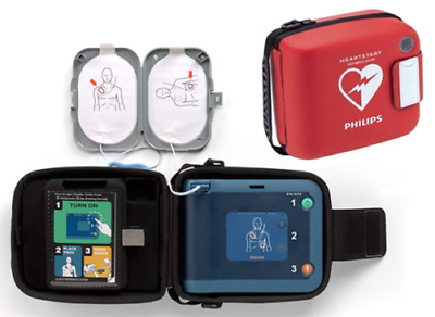 Philips Heartstart FRx AED Defibrillator and Response Kit with 3 Year Warranty