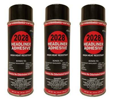 Package of 3 V&S #2028 Headliner Spray Adhesive