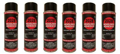 Package of 6 V&S #2028 Headliner Spray Adhesive