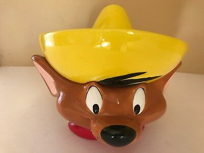 Warner Brothers 1999 Speedy Gonzales Salsa Bowl  Or Soup Bowl