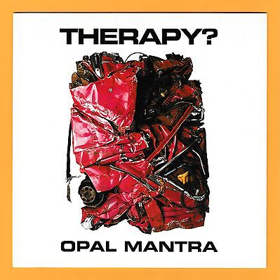 "Therapy? Opal Mantra 7"" Blue Vinyl Single"