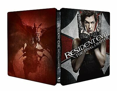 Resident Evil The Final Chapter - Limited Edition Steelbook (Blu-ray) NEW!!