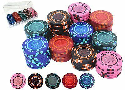 poker chips kartenspiele spiele spielzeug picclick de. Black Bedroom Furniture Sets. Home Design Ideas