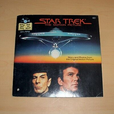 Star Trek The Motion Picture. Stories & Photos with 7'', 33 1/3 RPM Record