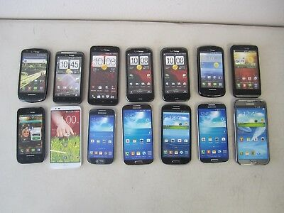 Lot of 14 Dummy / Display / Fake Cell Phones - Samsung, HTC and LG