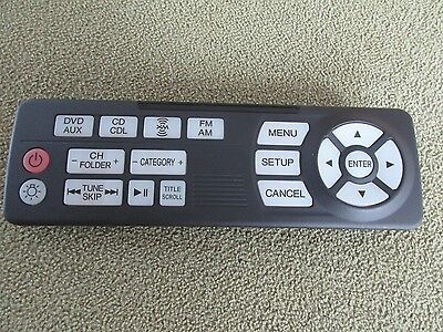 2011 2012 2013 2014 2015 Honda  Odyssey Rear  Dvd  Entertainment Remote Control