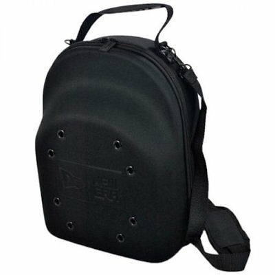 New Era Cap Hat Carrier Carrying Case Handle Fits 6 Hats 6-Pack Black