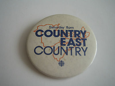 Cbc Country East Country Pinback/button