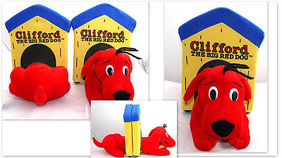 """Great Book Ends Clifford The Big Red Dog Scholastic Bookends Sz 8.5 """" Tall"""