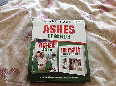Ashes Legends DVD & Book Set