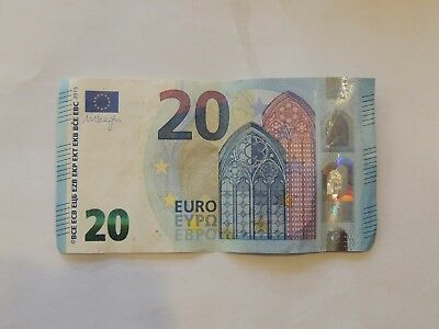 20 Euro Currency Note