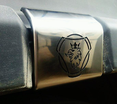 Scania 4 & 6 Series Chrome Fender Handle Cover 2pcs Left & Right S.STEEL