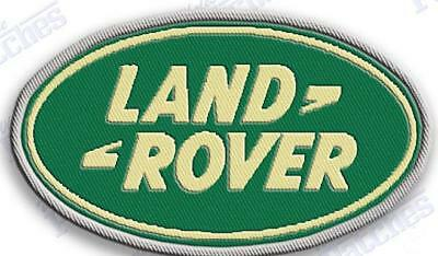 "land rover  iron on embroidery patch - 2.5"" x 1.5"" LR2 LR3 RANGE DISCOVERY SUV"