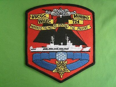 Shoulder Patch USCG US Coast Guard Munro WHES 724