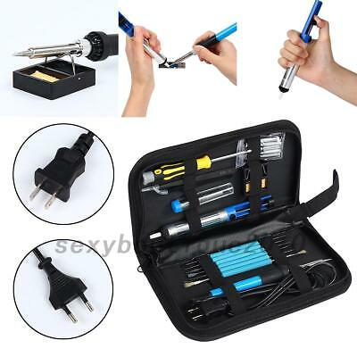 110V 60W Adjustable Electric Temperature Welding Soldering Iron Tool Kit Useful