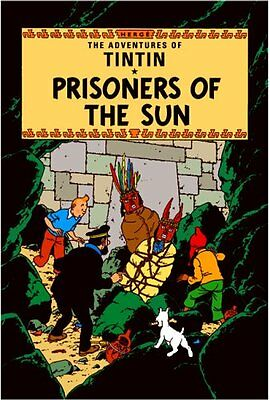 Prisoners of the Sun (The Adventures of Tintin) New Hardcover Book Herge
