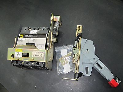 Square D FAL34060 480V 60A circuit breaker with 9422RN1 operating mechanism