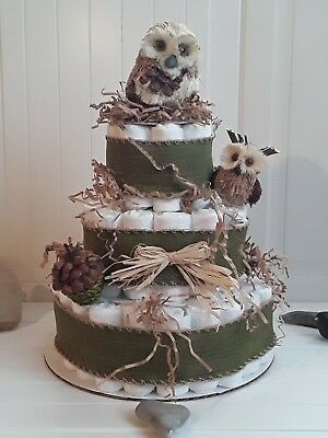 Welome to the woods Diaper Cake