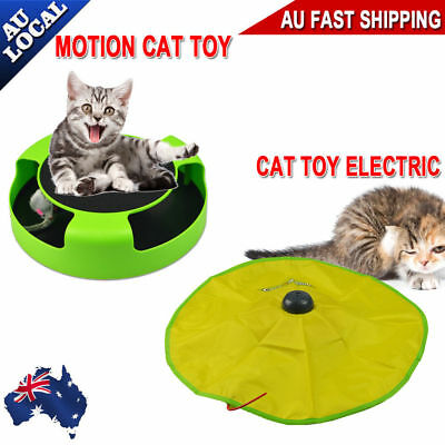 Electronic Interactive Cat's Meow Toy Moving Mouse Catch The Mouse Training Play