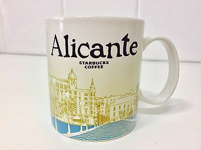 """ALICANTE STARBUCKS COFFEE"" Taza Original Series City Mug - Large 16oz Size NEW!"