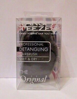 Tangle Teezer Original Detangling Hairbrush for Wet & Dry Hair - Panther Black
