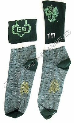NEW Girl Scout Stretch ANKLET SOCKS Collectors, Halloween Costume GS in Trefoil