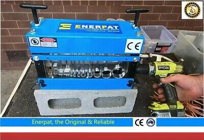 wire Cable stripper, wire stripping machine, tool, Manual +Drill*  Enerpat
