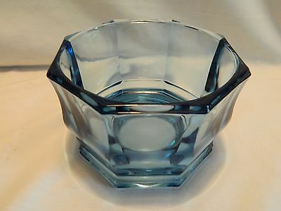 Indiana Glass Concord Blue Octagonal Shaped Dish