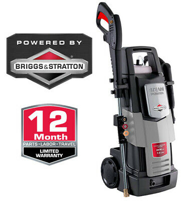 Briggs & Stratton Electric Pressure Washer 2030Psi Bws020S 1 Year Wty Steam