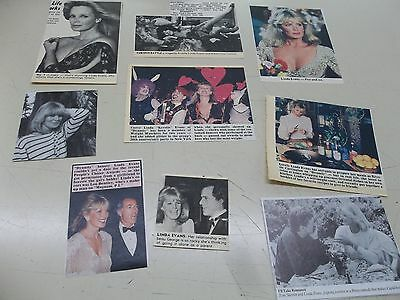 Linda Evans   lot of clippings #809