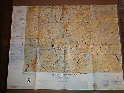 1967 Vietnam War US Army Corps of Engineers Amphoe Mae Chan, Thailand 1:250,000