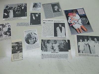Kristy McNichol  lot of clippings  #YG