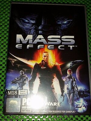Mass Effect Pc DVD Rom Game