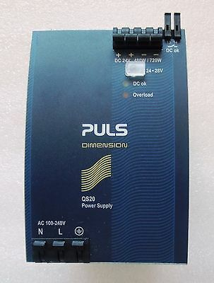 PULS Dimension Q-Series QS20.241  / 24 VDC / 20 Amp / DIN Rail Power Supply