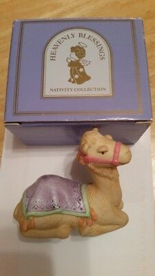 Avon Heavenly Blessings Camel Nativity Collection 1986