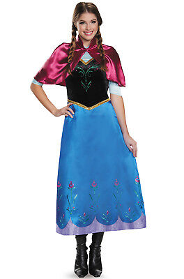 Brand New Disney Frozen Anna Traveling Deluxe Adult Costume