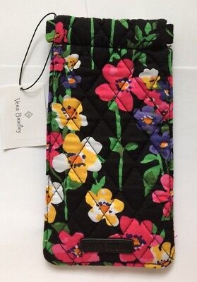 Vera Bradley NWT Sunglass Sleeve in Wildflower Garden Free Shipping
