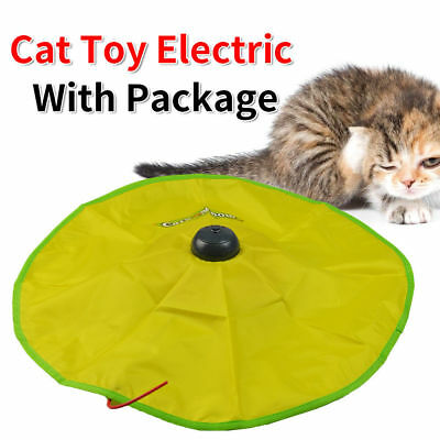 Electronic Kitten Cat's Meow Interactive Play Have Fun Toy Rotating Chase Mouse