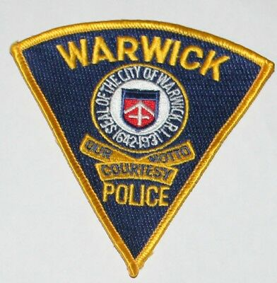 CITY OF WARWICK POLICE Rhode Island RI PD patch