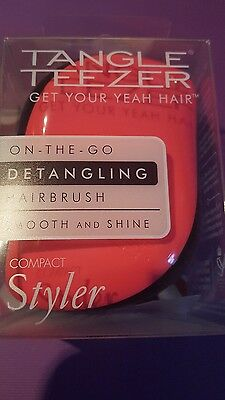 Tangle Teezer Pink Brush Compact Styler Hairbrush
