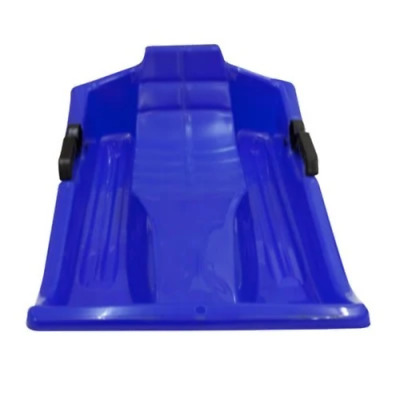 Blue Sledge, Kids Winter Ride On Vehicle With Handles and Parent Handle Attached