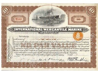 IMM International Mercantil Marine 1930 Titanic White Star Line